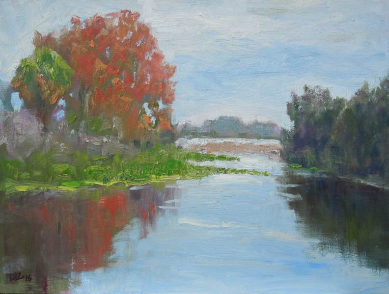 Kissimmee River - 12x16 oil on panel