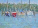 Port Salerno - 9x12 - pastels